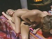Sweet tasty lesbo pussies eaten out