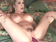 Young lezzies w perky tits make sex