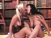 Two sexy librarians become lesbians