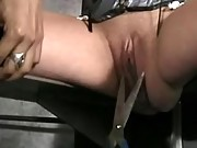 Girl tormented by lesbian mistress